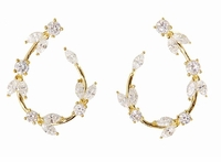 The DeVine Cubic Zirconia Earrings