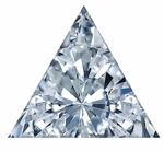 Trillion Triangle Cubic Zirconia Loose Stones