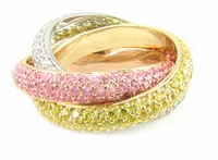Trio Eternity Ring