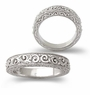 Victorian Engraved Antique Estate Style Wedding Band