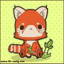 chibi red panda