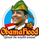 Obama hood - Spread the Wealth