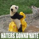 haters gon' hate
