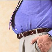 大肚腩是濕氣太重了?簡單一招,輕鬆消除體內濕氣濕毒!