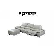 家庭新焦點!全牛皮電動沙發►隨心「坐、躺、臥」