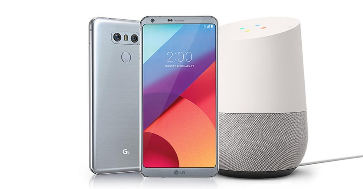 Buy the LG G6 now and get a Google Home