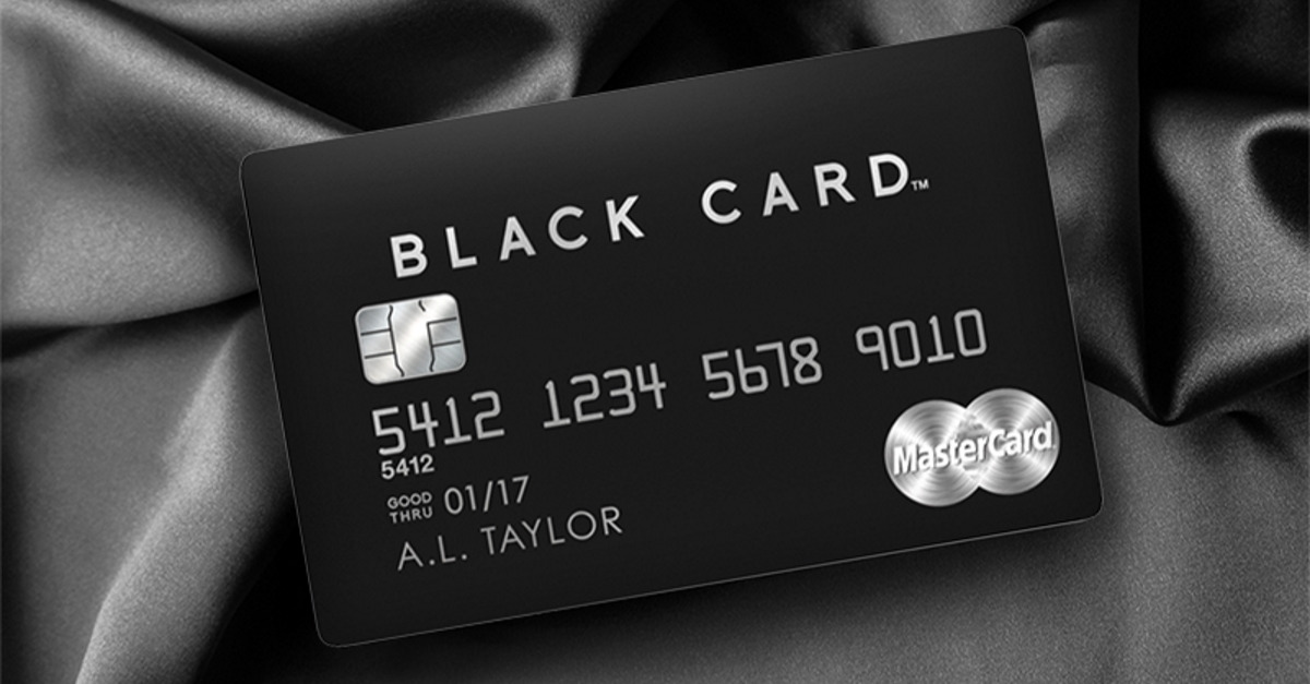 The MasterCard® Black Card™ - Life Without Limits™