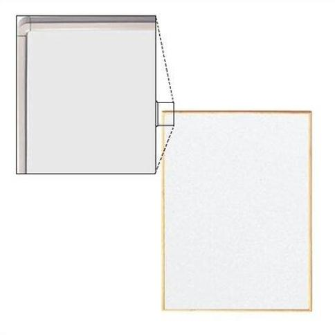Peter Pepper Tactics® Wall Mounted Whiteboard TCXXXX-6-X Size: 3' H x 4' W Frame Finish: Soft White
