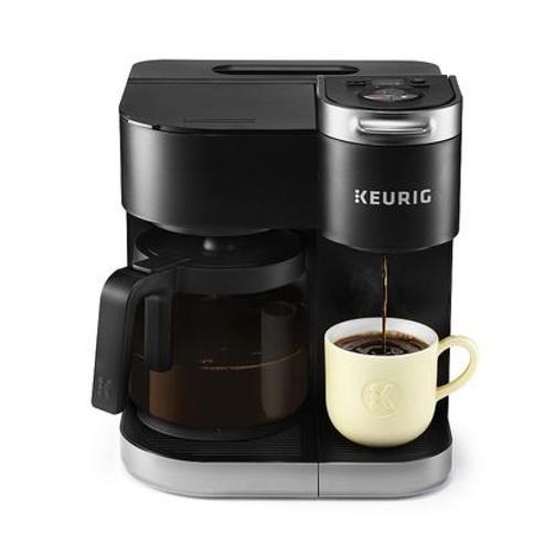 Keurig K-Duo Single-Serve & Carafe Coffee Maker, Black
