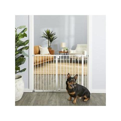 Frisco Extra Wide Auto-Close Pet Gate, 30-in Height, White