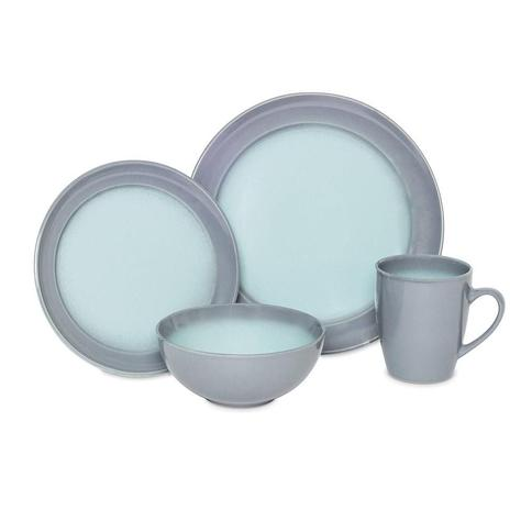 16pc Stoneware Obi Dinnerware Set - Baum Bros.
