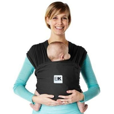 Baby K'tan Breeze Extra-Small Baby Wrap Carrier in Black