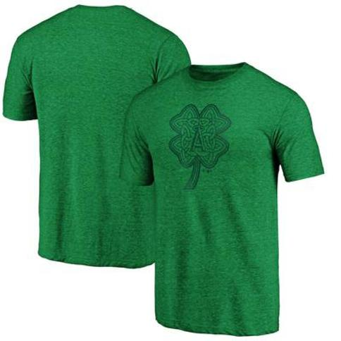 Los Angeles Angels Fanatics Branded St. Patrick's Day Paddy's Pride Tri-Blend Team T-Shirt - Kelly Green