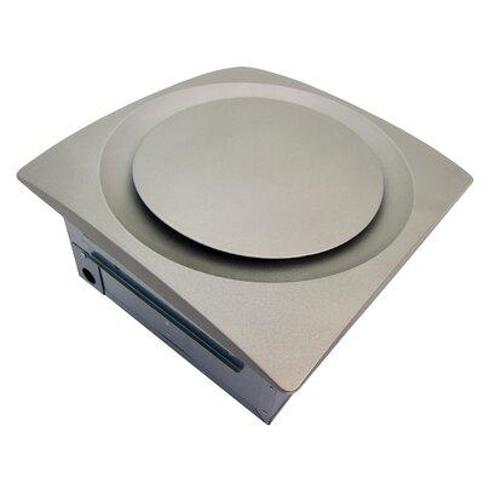 Aero Pure SlimFit 120 CFM Energy Star Bathroom Fan with Humidity Sensor AP 120H-S G6 Finish: Satin Nickel