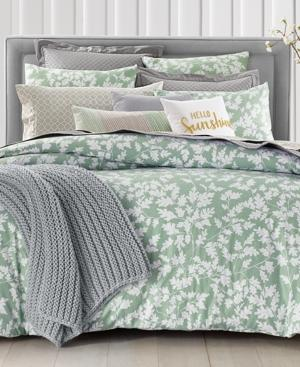 Charter Club Damask Designs Oak Leaf 3 Pc King Comforter Set Created For Macy S Bedding Yahoo Shopping