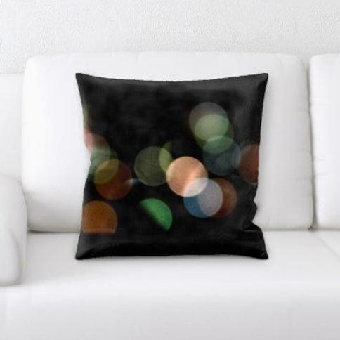 Ebern Designs Nelsonville Abstract Textures Throw Pillow CJ137488