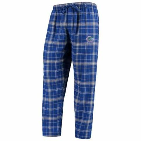 Florida Gators Concepts Sport College Ultimate Flannel Pants - Royal/Gray