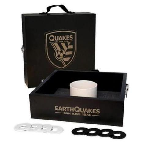 MLS San Jose Earthquakes Washer Toss Game Set in Onyx
