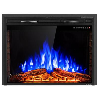 Boyel Living 36 In Electric Fireplace Insert Freestanding Stove Heater Yahoo Shopping