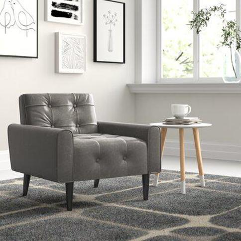 Zipcode Design Perry Club Chair aQDE9748 Upholstery: Gray