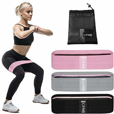 Workout Bands GGAME Resistance Loop Band Set Fit Simplify Resistance Loop Exercise Bands Exercise Workout Bands for Legs and Butt for Home Fitness Stretching,Strength Training,Physical Therapy