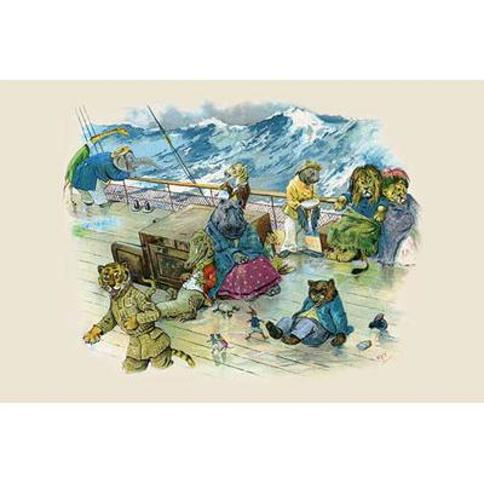 Buyenlarge 'In Spite of that they were all so Ill' by G.H. Thompson Painting Print 0-587-22478-9