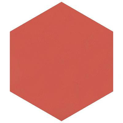 Merola Tile Take Home Sample Textile Basic Hex Red 9 7 8 In X 5 Porcelain Floor And Wall Yahoo Shopping