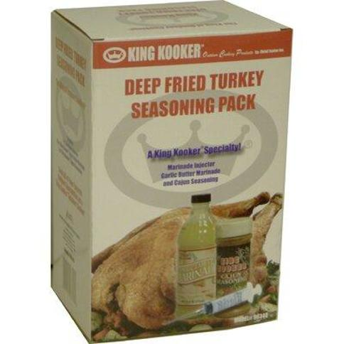 King Kooker Deep Fried Turkey Seasoning Pack 96348