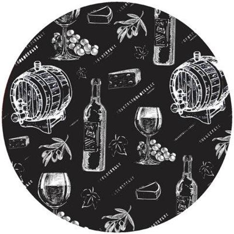 Andreas Silicone Trivets Chalk Wine Jar Opener JO-360