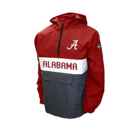 Franchise Club Crimson NCAA Alabama Crimson Tide Alpha Anorak