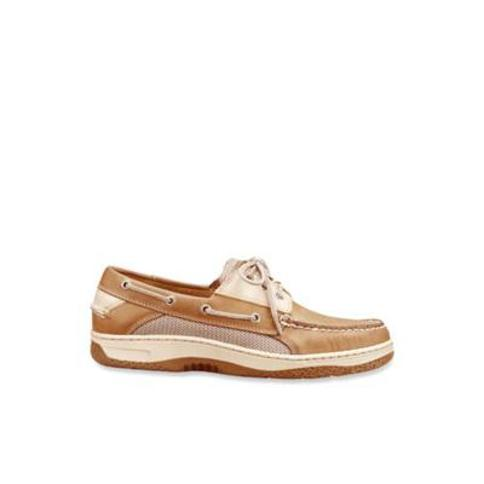 Sperry Tan Beige Billfish Casual Boat Shoe-Extended Sizes Available
