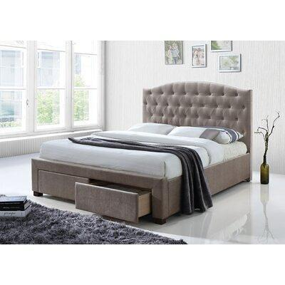 Darby Home Co Crader Upholstered, Wayfair Queen Platform Bed With Storage
