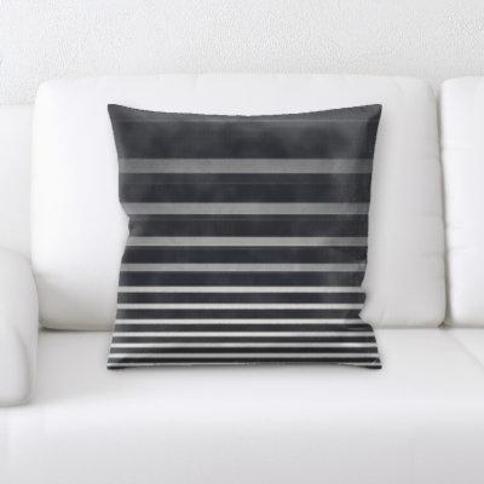 Ebern Designs Burnett Abstract Textures Throw Pillow CG137488