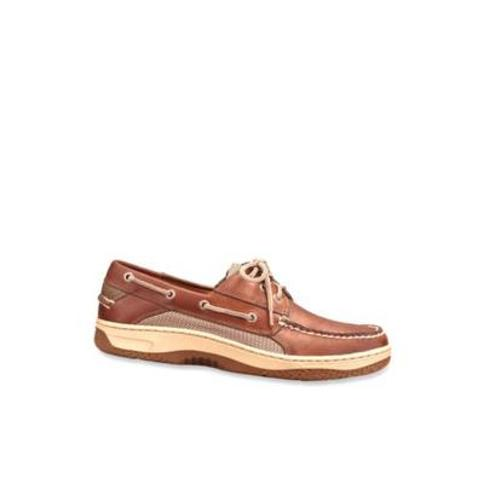 Sperry Dark Tan Billfish Casual Boat Shoe-Extended Sizes Available