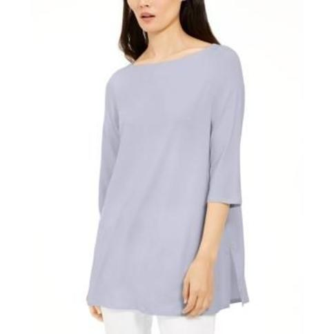 Eileen Fisher Boat-Neck Top, Created For Macy's