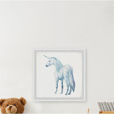 Harriet Bee Capote White Majestic Unicorn Framed Art Paper In Blue White Size 32 H X 32 W Wayfair E77f164d65d64ec4ad580aac054cd5c3 Yahoo Shopping