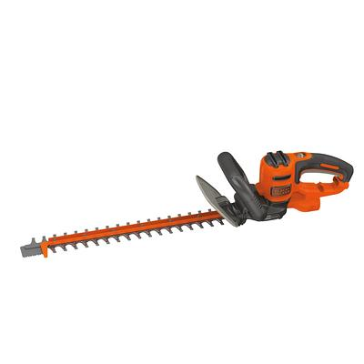 Aavix 24 In 20 Volt Cordless Electric Hedge Trimmer With Rotating Handle And Dual Action Laser Cut Blades Yahoo Shopping