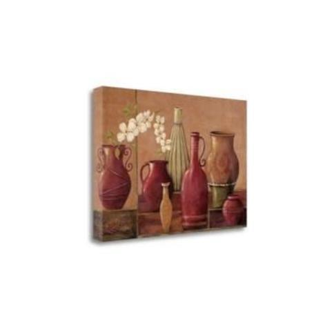 "Tangletown Fine Art Glazed Spice by Jo Moulton Giclee Print on Gallery Wrap Canvas, 24"" x 16"""