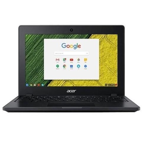"AcerChromebook 11 C771T-C1WS Intel Celeron 3855U Dual-Core 1.6GHz Chromebook - 4GB RAM, 32GB Flash Drive, 11.6"" HD 1366 x 768 IPS, 802.11ac wireless L"