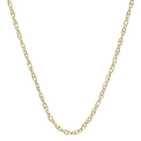 """""""14k Gold Cable Chain Necklace - 18 in., Women's, Size: 18"""", Yellow"""""""