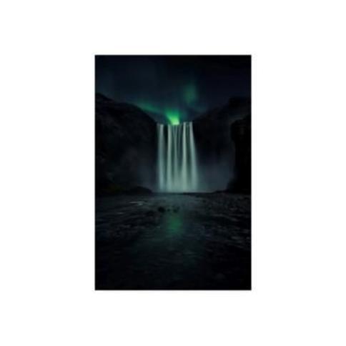 "Jorge Ruiz Dueso Green Night Canvas Art - 20"" x 25"""