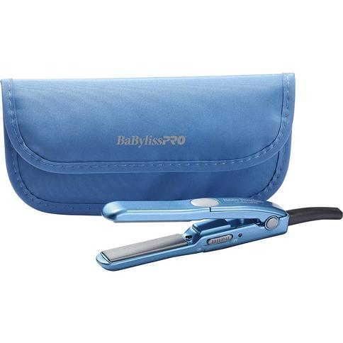 Mini Straightening Iron with Travel Pouch