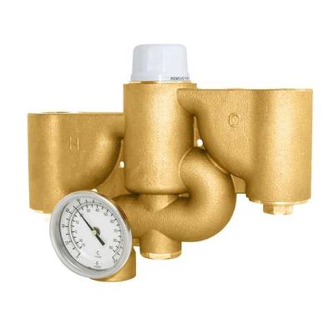 Speakman STW-350 Safe-T-Zone Thermostatic Mixing Valve - 62.5 GPM Flow Capacity N/A