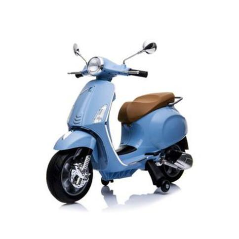Homeware Baby Blue Vespa 12 Volt Battery Operated Children's Ride On