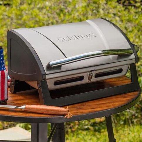 "Cuisinart Cuisinart 15.5"" Grillster 1-Burner Propane Portable Gas Grill CGG-059"