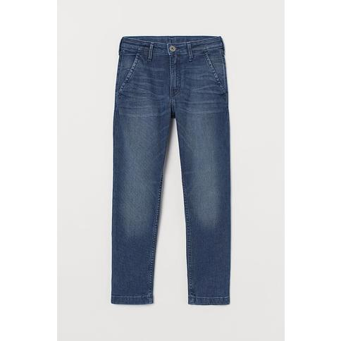 H&M - Super Soft Denim Joggers - Blue