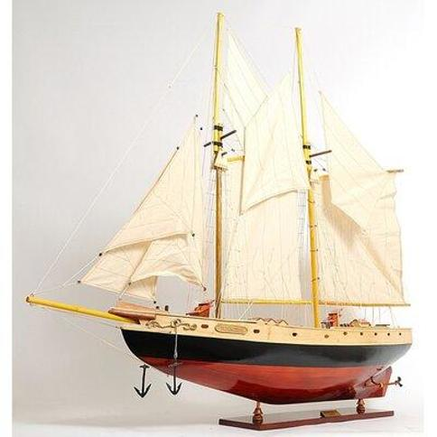 Old Modern Handicrafts Large Bluenose Ii Model Boat Y095