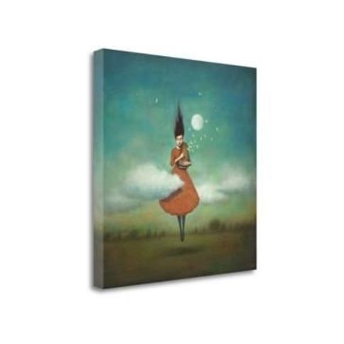 """Tangletown Fine Art High Notes For Low Clouds by Duy Huynh Giclee Print on Gallery Wrap Canvas, 25"""" x 25"""""""