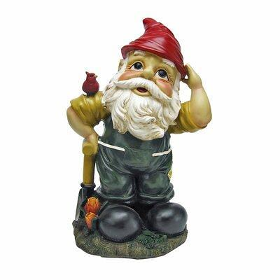 """Large Miniature Bigfoot and Gnomes for the Fairy Garden Large Garden Gnome 13/""""H"""
