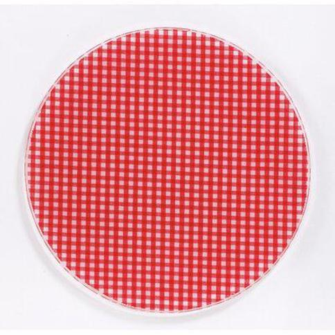 Andreas Silicone Trivets Gingham Jar Opener JO-106 / JO-107 Color: Red